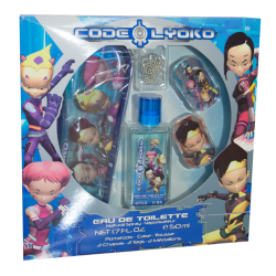 set profumo Code Lyoko 50ml