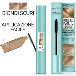 L'Oreal Ritocco Perfetto Mascara Per Ritocco Capelli Bianchi Bruno 8 Ml