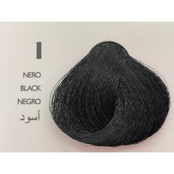Saphir Professional Intense Color Tinta Capelli in crema  N.1 Nero-100ml
