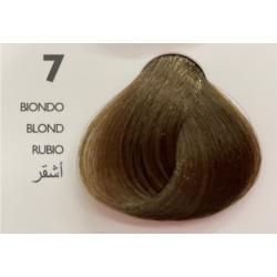 Saphir Professional Intense Color Tinta Capelli in crema  N.7 Biondo -100ml