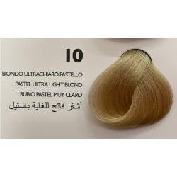 Saphir Professional Intense Color Tinta Capelli in crema  N.10 Biondo Ultrachiaro Pastello-100ml