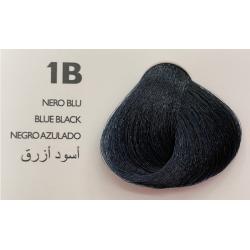 Saphir Professional Intense Color Tinta Capelli in crema  N.1B Nero Blu-100ml
