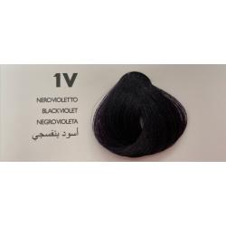 Saphir Professional Intense Color Tinta Capelli in crema  N.1V Nero Violetto -100ml