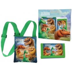 The Good Dinosaur Gift Kids Tracolla + Portamonete