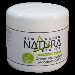 NEW GREEN NATURE BEAUTY-CREMA MASSAGGIO ALLE MANDORLE - 500 ml