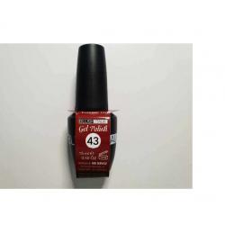 N43-Gel polish antique red 15 ml