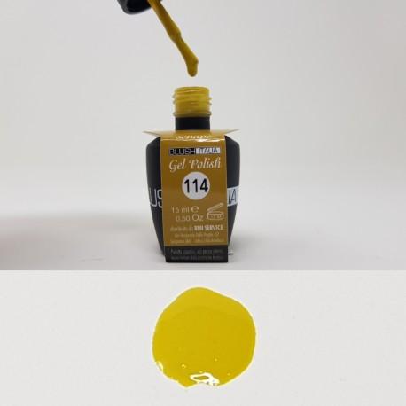 N114 Gel polish 15 ml senape