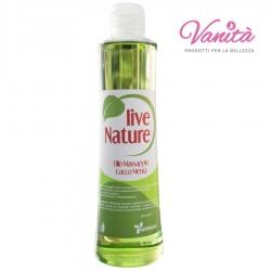 Live Nature - Olio Massaggio Cocco Menta 500ml
