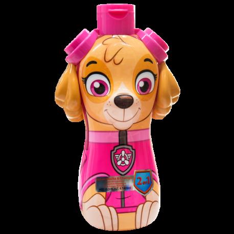 Doccia shampoo 2 in 1 personaggio Skye Paw Patro