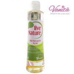Olio Massaggio Argan  500ml - Live Nature