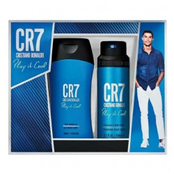 CRISTIANO RONALDO CONFEZIONE REGALO - CR7 PLAY IT COOL – SHOWER GEL + BODY SPRAY