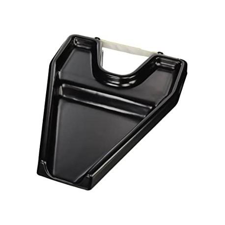 Lavatesta portatile   per lavandino Leggero e comodo  Plastica Nero Mobiclinic