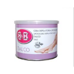 CERA DEPILATORIA  TALCO 400ml B&B