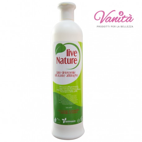 Latte Detergente Idradante Antirughe - Live Nature